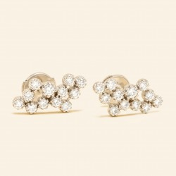 Or Blanc 18 Carats, Diamant
