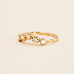 Or Jaune 18 Carats, Diamant